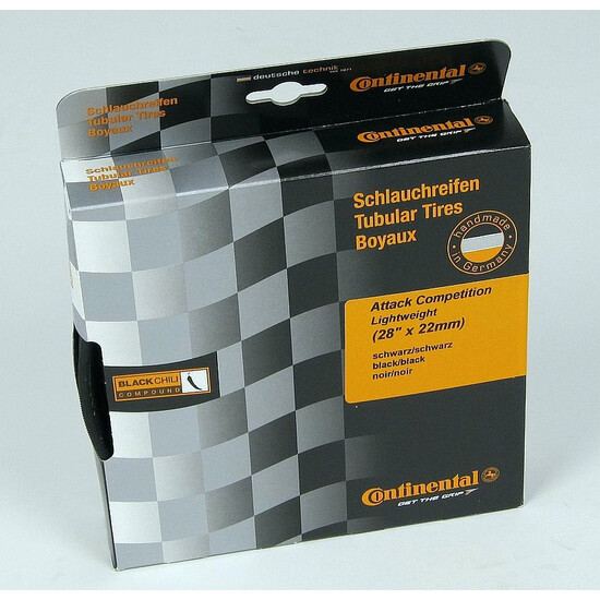Continental AttackComp Schlauchreifen -Lightweight Edition-