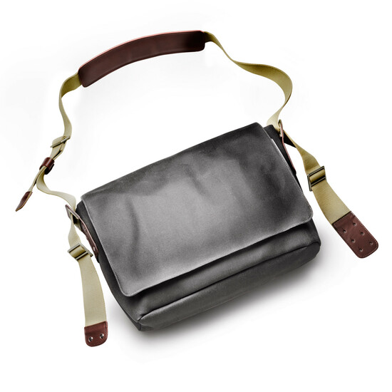 Brooks Barbican Shoulder Bag Umhägetasche grau
