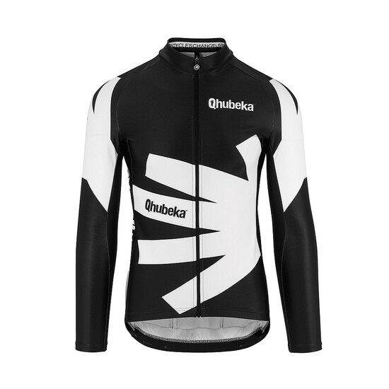 Qhubeka Assos LS Moving Forward Langarmtrikot M